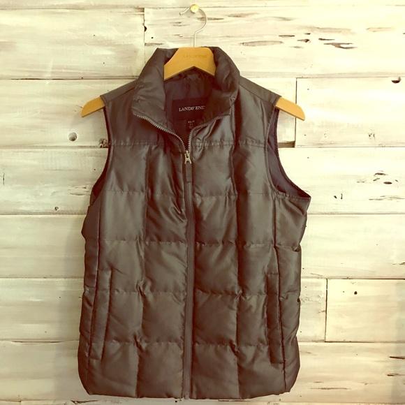 Lands' End Jackets & Blazers - Lands' End down puffer vest